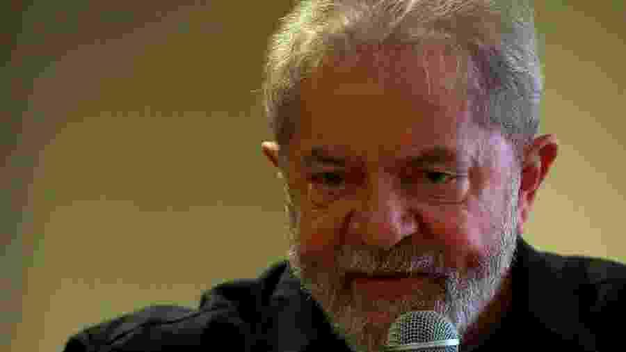 O ex-presidente da República Luiz Inácio Lula da Silva (PT) durante evento em São Paulo - 21.set.2017 - Hélvio Romero/Estadão Conteúdo