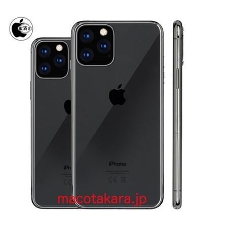 Rumor indica que a nova linha de iPhones terá três câmeras principais - Reprodução/Mackotakara