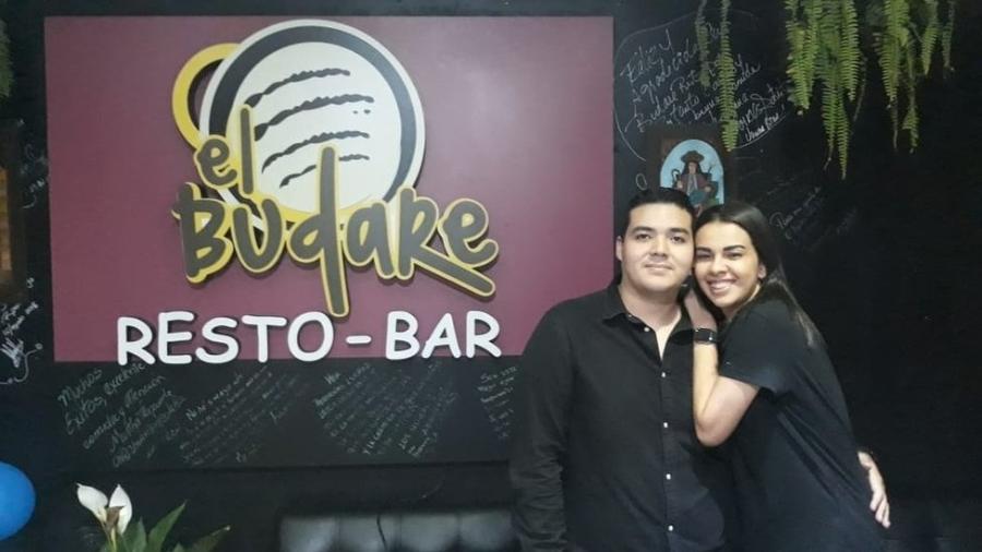 Os venezuelanos Jéssica e Brayan entraram no Peru como turistas e hoje são empresários - Arquivo pessoal