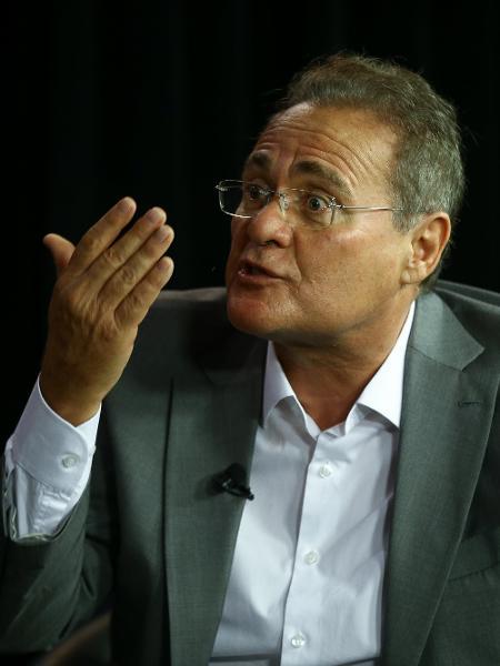 Senador Renan Calheiros (MDB-AL) - Pedro ladeira/Folhapress