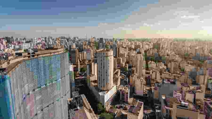 Horizonte da cidade de São Paulo - Getty Images/iStockphoto