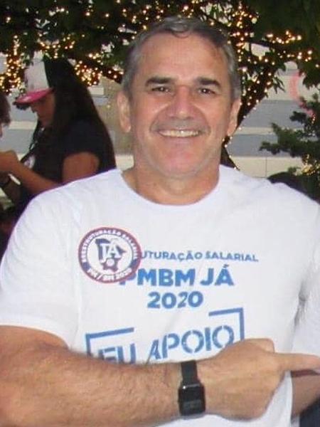 O Cabo Sabino (Avante), líder do movimento dos policiais amotinados - Arquivo pessoal