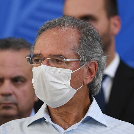 O ministro da Economia, Paulo Guedes, em Brasília - Edu Andrade/Fotopress/Estadão Conteúdo