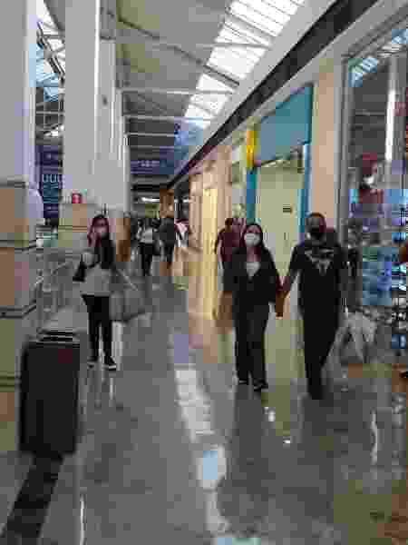 Corredor do shopping Campo Grande, no Mato Grosso do Sul - Divulgação