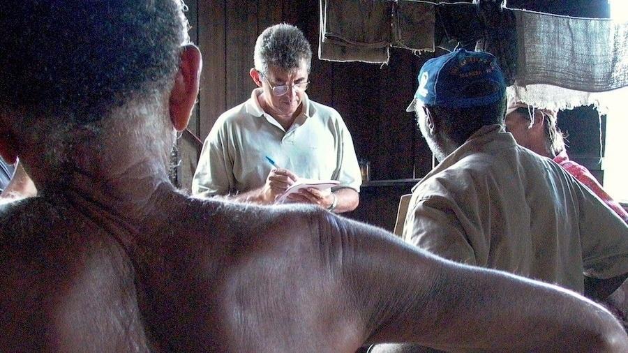 Auditor fiscal do trabalho durante resgate de pessoas escravizadas no Pará - Leonardo Sakamoto
