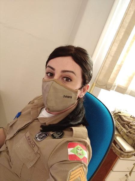 Priscila Diana atua no administrativo da PM após não conseguir mudar nome - Arquivo Pessoal - Arquivo Pessoal