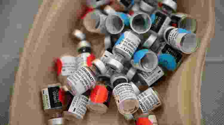 Vacinas descartadas - Martin Bureau/AFP - Martin Bureau/AFP