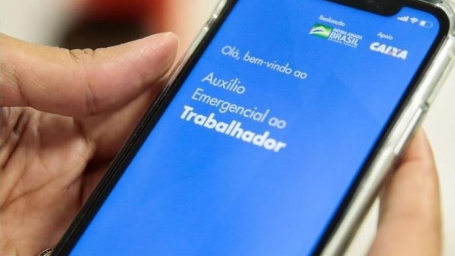 Tela de aplicativo da Caixa - Divulgação