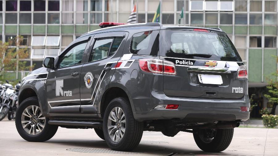 Viatura da Rota, grupo de elite da Polícia Militar - Rivaldo Gomes/Folhapress