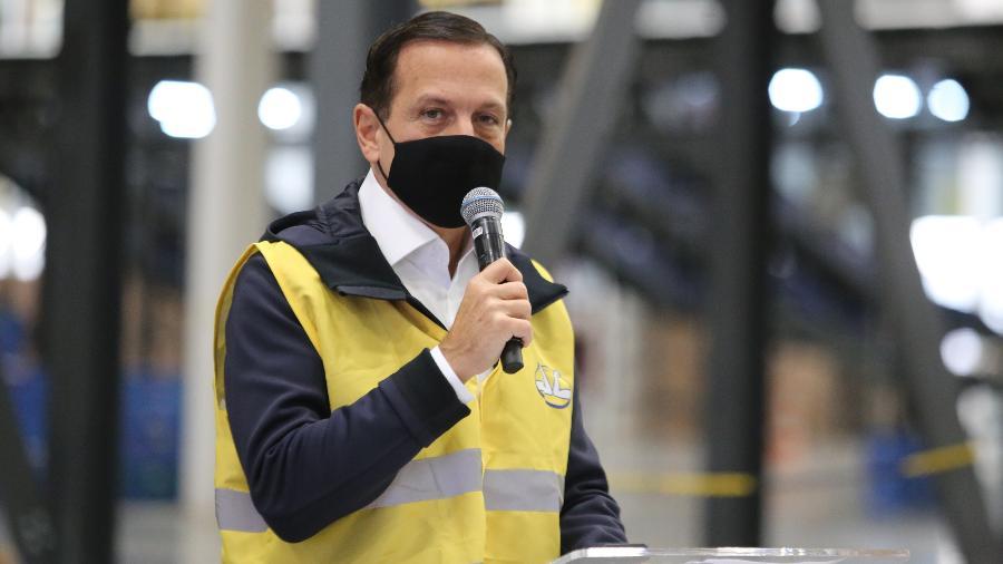 Governador João Doria disse que São Paulo pode flexibilizar mais a partir de 24 de maio - Divulgação/Governo de São Paulo