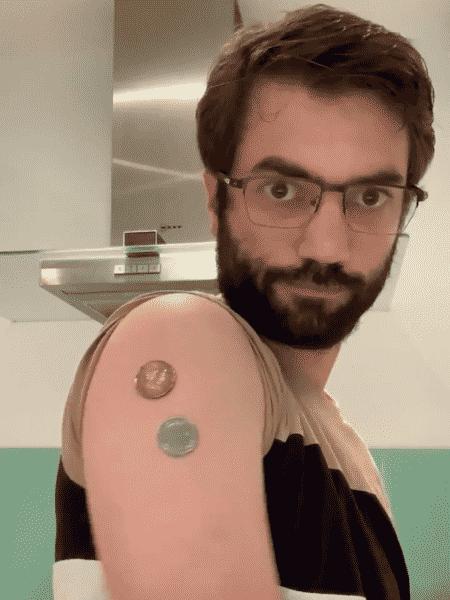 fake news da vacina magnética - Reprodução/Twitter/@parolin_ricardo - Reprodução/Twitter/@parolin_ricardo