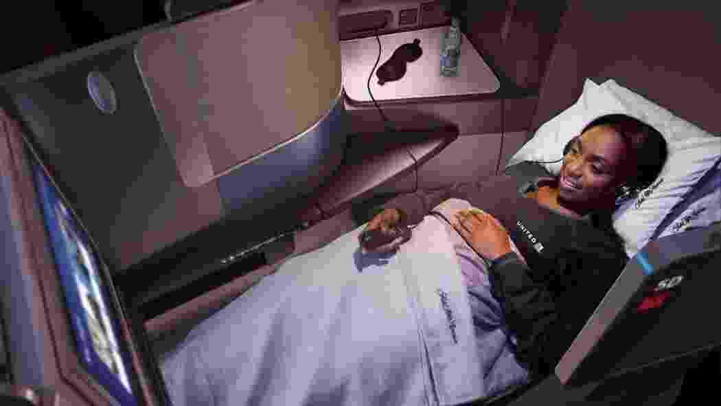 pijama da United Airlines - Divulgação