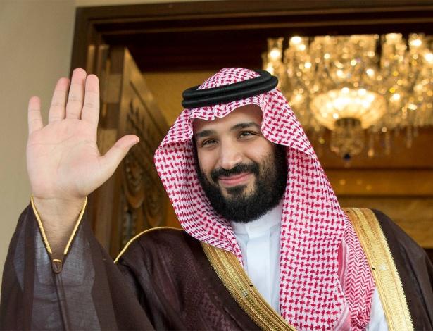 O recém-anunciado príncipe herdeiro da Arábia Saudita, Mohammed bin Salman