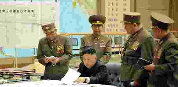 coreia do norte bbc 2 - KCNA via Reuters - KCNA via Reuters