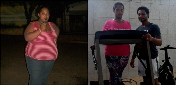 Luziene Ferreira emagreceu 51 quilos para participar de festa de formatura