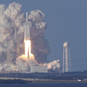 Foguete Falcon Heavy, da SpaceX