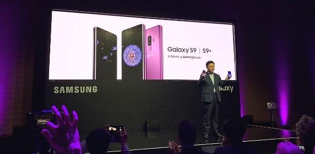 Galaxy S9 foi lançado oficialmente no Brasil nesta terça (27)