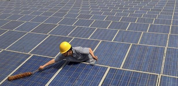 Indústria de energia solar pode estar sofrendo com um excesso de capacidade