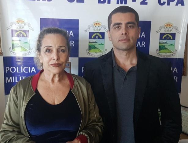 19.jul.2018 - O médico Denis César Barros Furtado e a mãe dele, Maria de Fátima Barros, foram presos no Rio