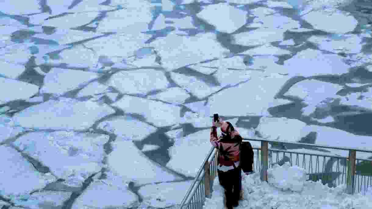 Imagem de Chicago congelada - Reuters/BBC