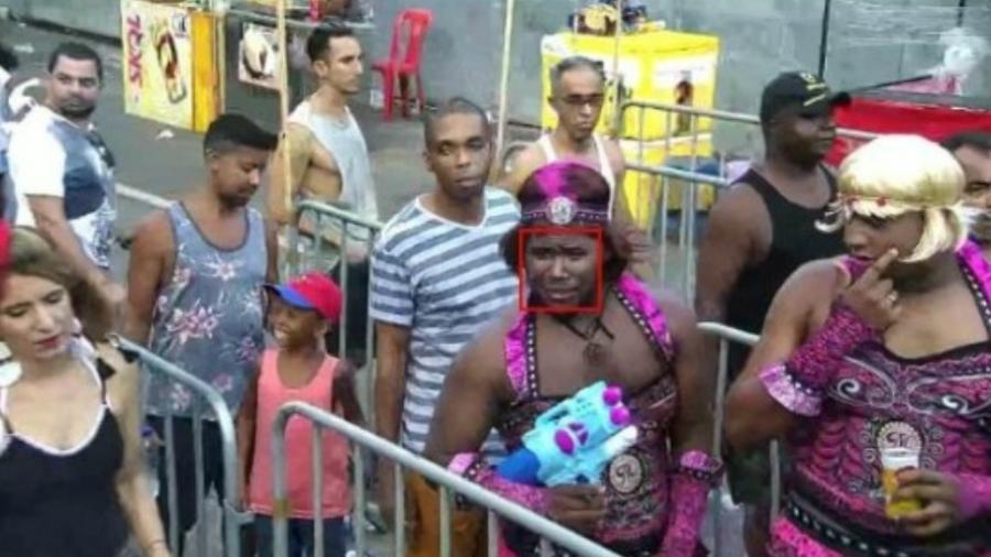 Criminoso fantasiado é achado por câmeras de segurança com reconhecimento facial em Salvador - Secretaria de Segurança Pública da Bahia