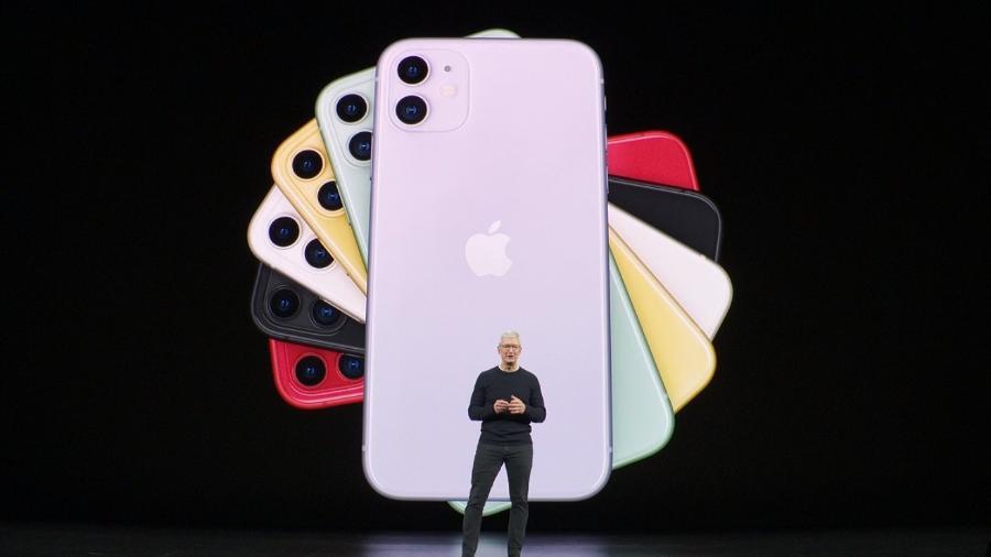 A Foxconn, que fabrica smartphones para a Apple, interrompeu quase toda sua produção na China ao menos até 10 de fevereiro - Divulgação/Apple