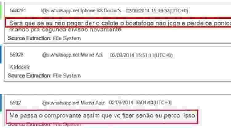 PF: irmão do ex-governador Omar Aziz pediu a médico que tinha contrato com o estado que pagasse R$ 1,5 mi ao Botafogo - Reprodução