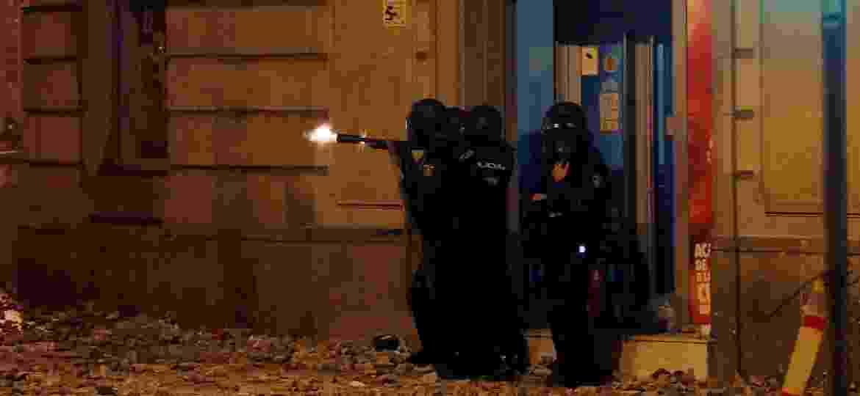 Quinto dia de protestos separatistas causa atritos no centro de Barcelona - Juan Medina/Reuters