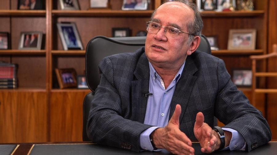 O ministro Gilmar Mendes, do Supremo Tribunal Federal - 19.jun.2019.jun.2019 - Kleyton Amorim/UOL