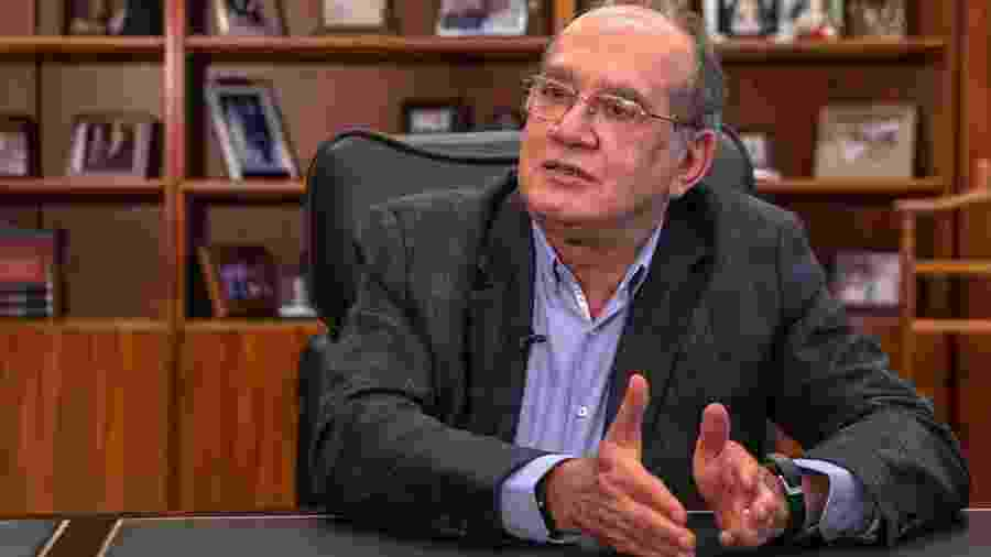 O ministro Gilmar Mendes, do Supremo Tribunal Federal - 19.jun.2019 - Kleyton Amorim/UOL