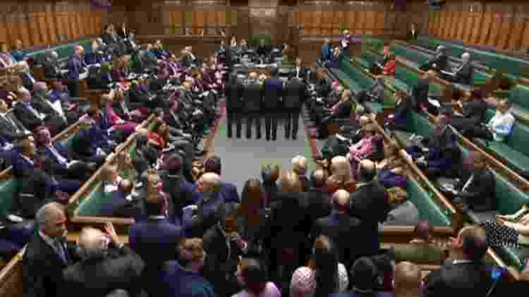 A saída do Reino Unido da União Europeia foi aprovada por 330 votos a 231 - PRU - 9.jan.2020/AFP