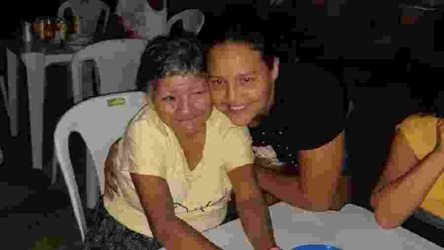 Rosa precisou ficar com o corpo da tia 30 horas em casa até remoção do serviço funerário - Arquivo pessoal