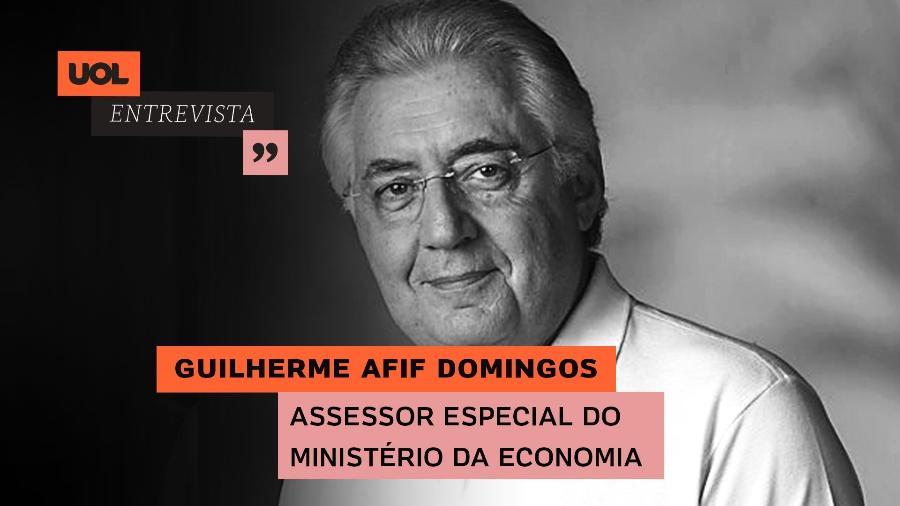 Guilherme Afif Domingos no UOL Entrevista (22/07/20) - Arte/UOL