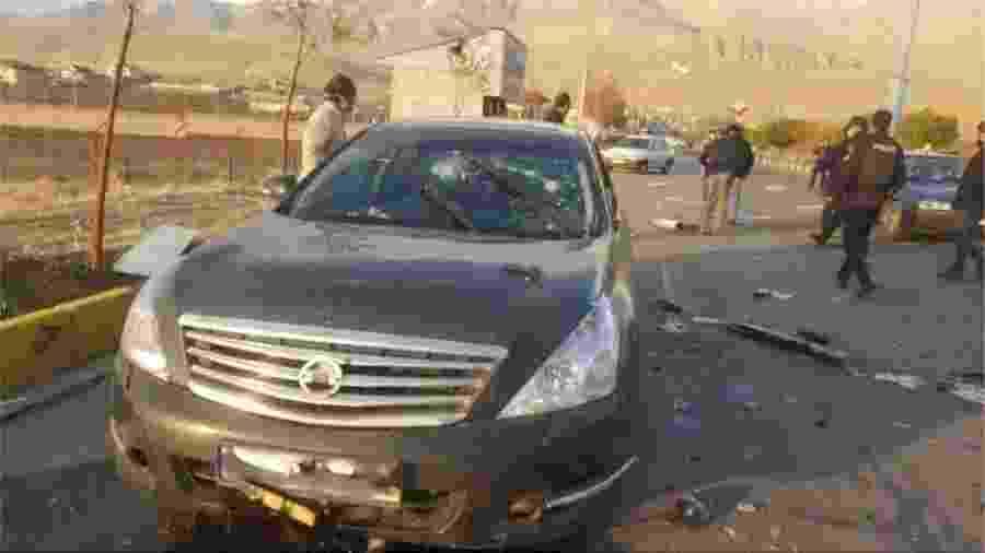 Mohsen Fakhrizadeh foi atacado em seu carro com explosivos e armas de fogo - Reuters