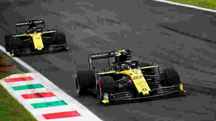 Renault F1 Ricci Hulk - Divulgação  - Divulgação