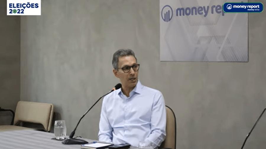 Eleito na esteira do bolsonarismo em 2018, Zema se mantém próximo ao presidente - Reprodução/Youtube/Money Report