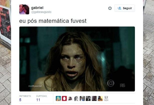 30.nov.2015 - Prova da Fuvest 2016 vira piada nas redes sociais