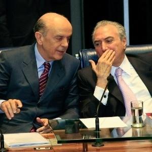 Serra diz que tem conversado com Michel Temer sobre possível novo governo