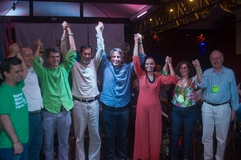 5.ago.2016 - A convenção da Rede-Rio oficializou a candidatura de Alessandro Molon à prefeitura do Rio de Janeiro, com Roberto Anderson (PV) como vice, na coligação Rede-PV-PPL