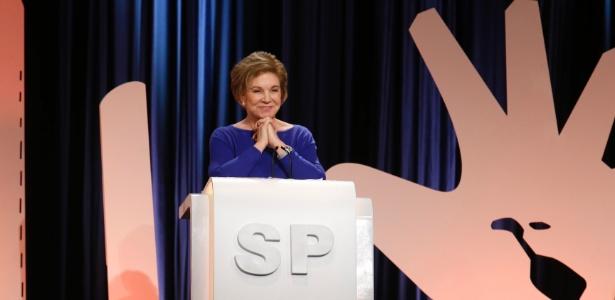 Marta Suplicy participa de debate em São Paulo em 2016