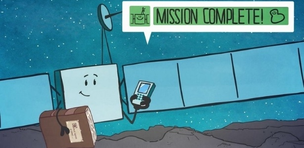 A sonda Rosetta pousou com sucesso nesta sexta-feira (30.setembro) no cometa 67P/Churyumov-Gerasimenko