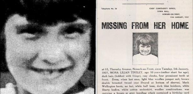 O rosto de Mona foi estampado nas páginas de incontáveis jornais e folhetos na época do crime