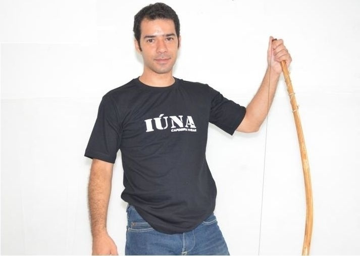 Wescley Tinoco, fundador da Iúna Capoeira Wear