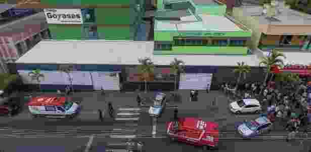 Imagem da fachada do colégio Goyases, em Goiânia - CRISTIANO BORGES/O POPULAR/ESTADÃO CONTEÚDO