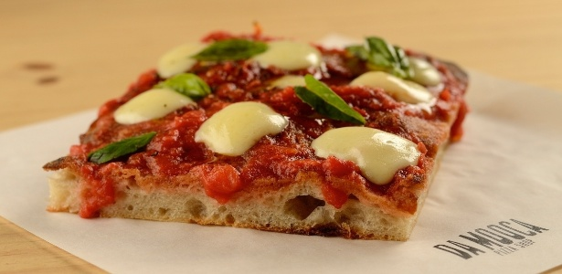 Da Mooca Pizza Shop pizza margherita