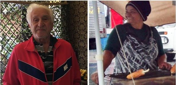 João Teodorov (esq.) é Bolsonaro, e Maria Ferreira (dir.) vota em Haddad no 2º turno