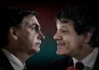 Jair Bolsonaro e Fernando Haddad têm no 2º turno o desafio de enfrentar taxa de rejeição recorde do eleitor - Arte/UOL