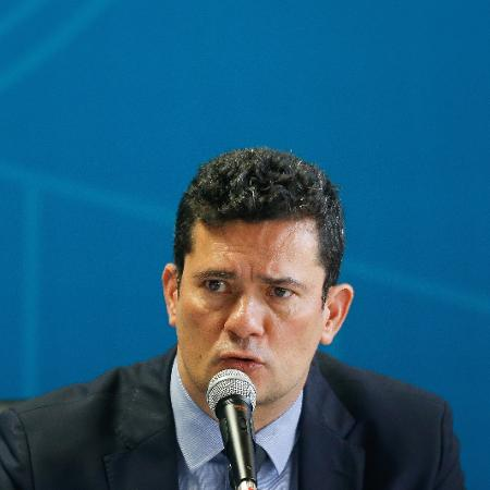 O ministro Sergio Moro (Justiça) - Dida Sampaio/Estadão Conteúdo