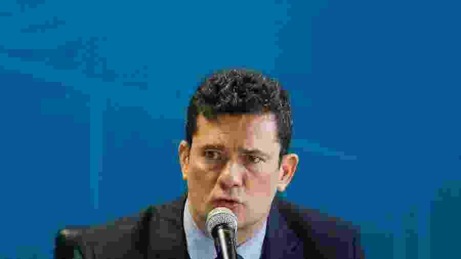 Sergio Moro revogou nomeação de especialista após repercussão negativa nas redes sociais  - Dida Sampaio/Estadão Conteúdo