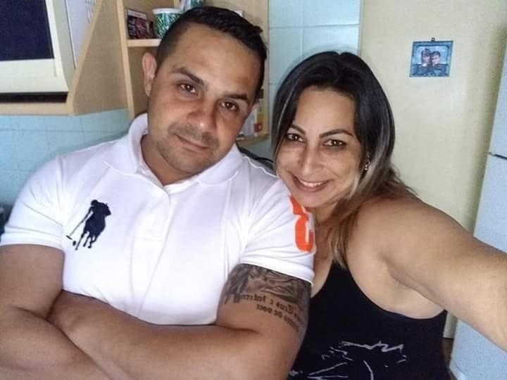 Viúva de PM da Rota morto se despede do marido nas redes sociais